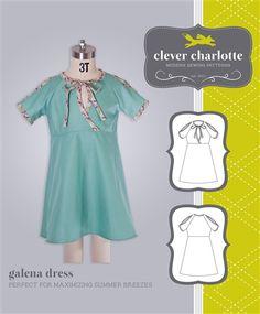 Galena Dress Sewing Pattern