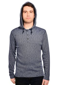 DKNY Jeans Mens Long Sleeve Hooded Henley Shirt #hoodie #hood #longsleeve #shirt #soft #comfort #sale #clearance #discount #cute #adorable #fierce #women #fashion #womensfashion #savvy #stylesavvy #styleforless