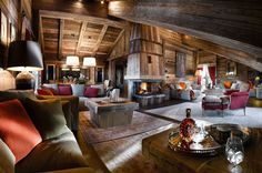 This is Chalet Ormello in Courchevel 1850...possibly the most impression #skichalet in #courchevel1850 http://www.luxurychaletcollection.com/the-collection/ormello/
