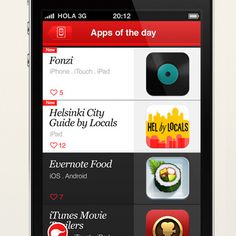 Overlapps iPhone App design by Miguel Antolín. - Best Mobile Designers In The World   Scoutzie