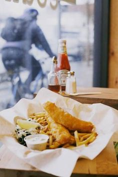 Amazing And The Best Fish And Chips And More From One Of Vancouver's Top Chefs