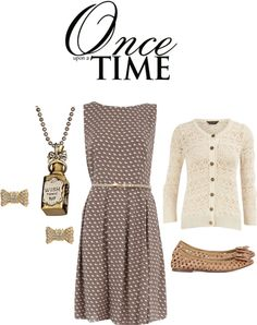 """Once Upon a Time: Mary Margaret"" by charmingpumpkin ❤ liked on Polyvore"
