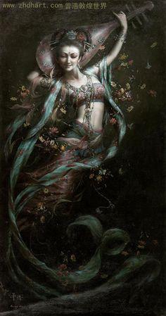 Quan Yin by Zeng Hao Dun Huang