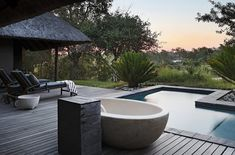 11 Incredible Hotels Worth Planning Your Whole Trip Around - Londolozi in Sabi Sand Game Reserve, South Africa Rhino Africa, Safari, House Plans South Africa, Sand Game, Honeymoon Hotels, Exterior, Out Of Africa, Kruger National Park, Game Reserve