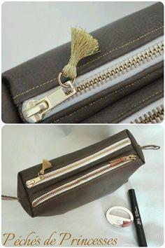 Trousse Zip-Zip cousue par Péchés de Princesses - Patron Sacôtin