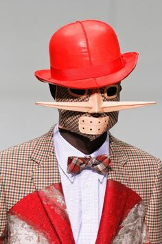 My dear Watson, is this you? Walter Van Beirendonck