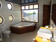 There is a jacuzzi in 4 of our 5 rooms!!! The other room has a special bathroom, adapted for disabled.  If you have children or babys, we will organize suitable beds for you!