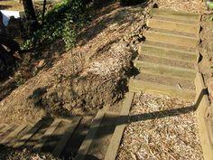 backyard stairs ideas - Google Search