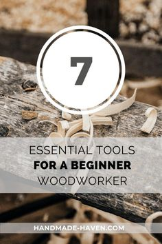 Woodworking Tools for Beginners – Handmade Haven Woodworking Essentials, Woodworking Tools For Beginners, Woodworking Courses, Essential Woodworking Tools, Antique Woodworking Tools, Carpentry Tools, Woodworking Clamps, Wood Working For Beginners, Easy Woodworking Projects
