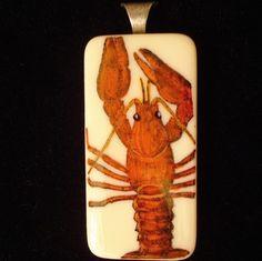 Red Lobster Pendant #JoesCrabShack