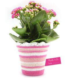 Blumentopf häkeln