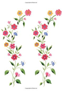 gorgeous flower design from a Kim Parker children's book