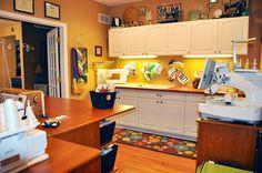 Koala Studios sewing room