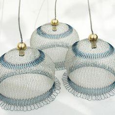 knitting with wire.....Wow!    *Дизайн и декор* - Вязание из проволоки