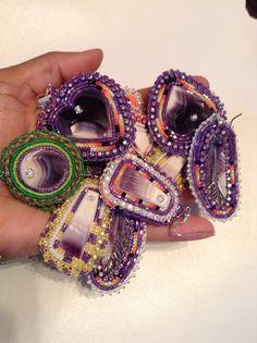 Wampum beadwork