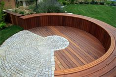 new patio design Backyard Seating, Fire Pit Backyard, Backyard Patio, Backyard Landscaping, Backyard Ideas, Back Garden Design, Yard Design, Design Design, Design Ideas