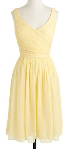 buttercup yellow! darling #bridesmaid dress  http://rstyle.me/~1Hs3Q