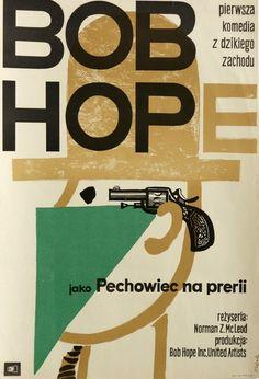 Alias Jesse James Pechowiec na prerii Flisak Jerzy Polish Poster