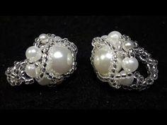 Precioso Anillo de Perlas para Reinas...Clase #54!!! - YouTube