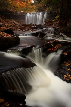 NEPA is Northeast PA. Check out this shot of Ricketts Glen, in Northeast Pennsylvania