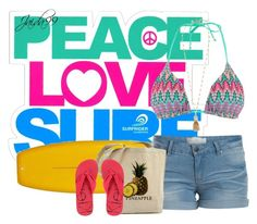 Peace, Love, and Surf 7/13/15 by jaida99 on Polyvore featuring polyvore fashion style Pieces Monsoon Calvin Klein J.Crew Surfrider Foundation clothing