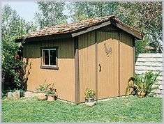 Possible storage shed plans.