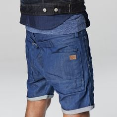 star raw faeroes low tapered 1 2 denim men shorts. Black Bedroom Furniture Sets. Home Design Ideas