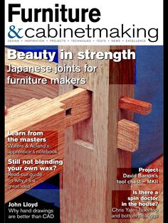 If you have an interest in Japanese joinery or joinery in general, then I would like to point you to an article series by John Bullar. Mr.Bullar is writing thisarticle series aboutJapanese join…