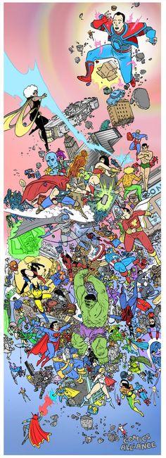 Marvel vs. DC - Ulises Farinas