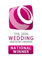 National Winners in The Wedding Industry Awards 2016 for best events team!!
