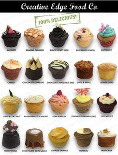 The Home of Great Kiwi Baking Gourmet Cupcakes, Cupcake Flavors, Cupcake Recipes, Dessert Recipes, Bakery Menu, Bakery Recipes, Mocha Cupcakes, Strawberry Cupcakes, Velvet Cupcakes