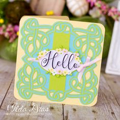 (I) (L)ove (D)oing (A)ll Things Crafty!: Hello Spring Celtic Card