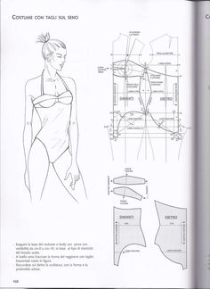 Archivo de álbumes Underwear Pattern, Lingerie Patterns, Sewing Lingerie, Clothing Patterns, Sewing Patterns, Swimsuit Pattern, Bra Pattern, Pattern Books, Bustiers