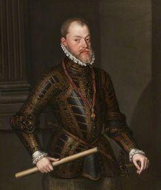 Sanchez Coello, Alonso, c.1531-1588; Philip II of Spain (1527-1598)