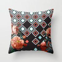 Throw Pillows by Karen Hofstetter   Society6