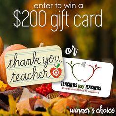 Thankful for You Teacher Giveaway A Modern Teacher