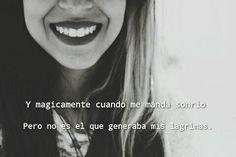 Una sonrisa verdadera.