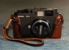 Voightlander Bessa r3a. Second rangefinder after the Leica CL. It takes Leica lenses but at a third of the price.     Rock solid and sturdy, most of my India shots were taken with this and the Leica Summicron 40mm lens