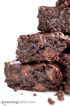 Best Vegan Brownies (Rich, Moist & Bursting With Flavour)