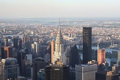Chrysler Building From The Empire State Building - John Telfer