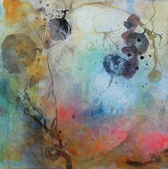 "Saatchi Online Artist: Deedra Ludwig; Mixed Media, Painting ""Esturine"""