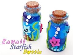 ▶ Starfish Bottle Charm