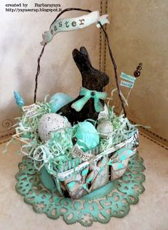 yaya scrap & more: Sizzix Easter Basket