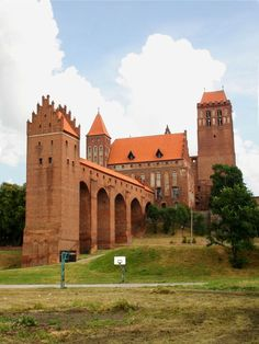 Kwidzyn Complex of, the castle of the Pomezanian Council. Its construction began in 1322 year.   Poland