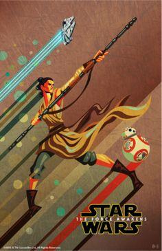 Star Wars The Force Awakens 11 X 17 Exclusive Disney Poster Rey Rare Disney Movie Rewards, Disney Movies, Chewbacca, Fan Art, Star Wars Disney, Star Wars Episoden, Disney Posters, Movie Posters, Episode Vii