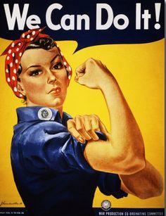 J Howard Miller, We Can Do It poster.
