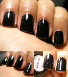 This is the first black which I have used which is a ONE COATER! Here it is with 2 coats. Nails Inc describes this as a Super patent black . Black Grapes, Nails Inc, Essie, Nail Polish, Velvet, Revlon, Taxi, Coats, Wraps