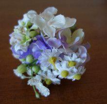 ふんわりナチュラルブーケ&ブートニア、リストレット☆ |Ordermade Wedding Flower Item MY FLOWER ♪ まゆこのブログ