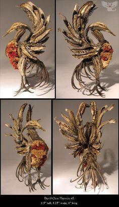 phoenix devil claw seed pod sculpture