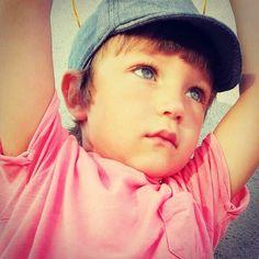 My boy. Little model.